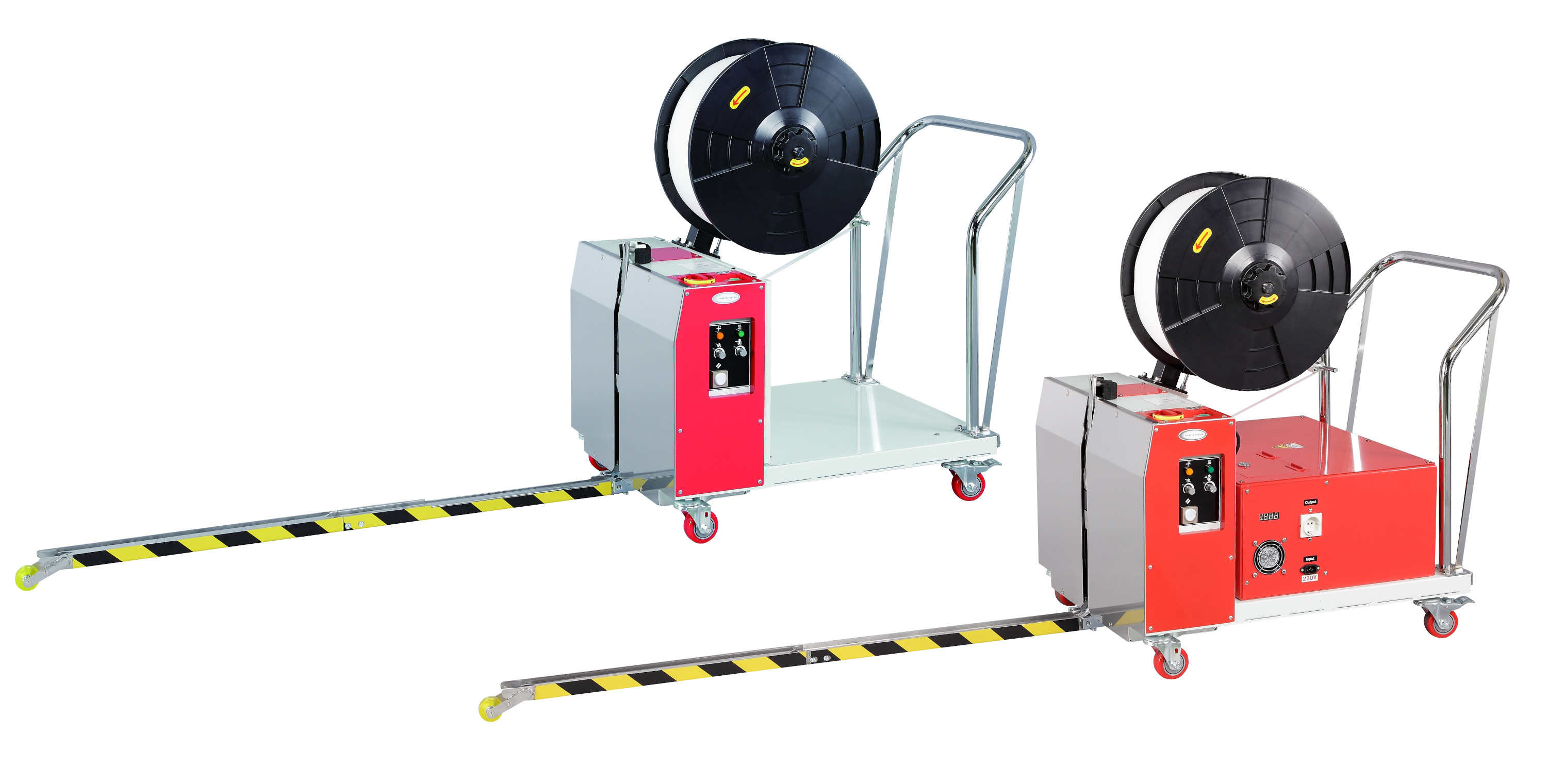 Are you looking for the simplest solution for machine strapping of pallets?