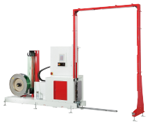 Pallet strapping machines