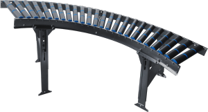 Curved conveyor modules