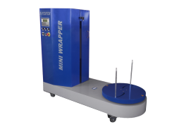 Package wrapping machines