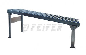 DP500 conveyor - plastic rollers, L=2000 mm, A=80 mm