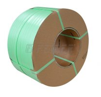 PP strap 6 x 0,55 mm, 200/190 - 5500 m, 750 N, green