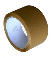48 mm x 66 m - self adhesive tape, havana