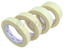 25mm x 50m - self adhesive tape, crepe-mask