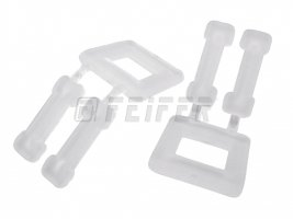 B-12 plastic buckles 12 mm