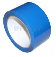 50 mm x 66 m - self adhesive tape, blue