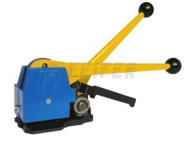 BO-51 sealless steel strapping tool (extra strong tightening wheel, metal cover)