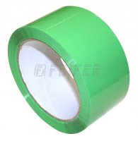 50mm x 66m - self adhesive tape, green