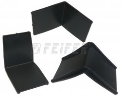 Plastic corner with width of 33 mm
