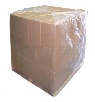 Palletizing bag LDPE 1280+(2x430)x1650 mm, th. 0,100 mm recycl.