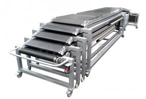 FLEXITRANS - telescopic driven belt conveyor