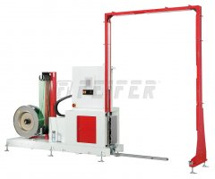 TP-703VLM POLLUX - vertical fully-automatic strapping machine