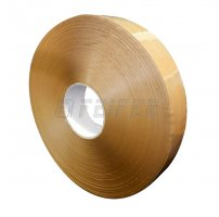 48 mm x 990 m - self adhesive machine tape, Havana