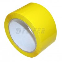 48mm x 66m - self adhesive tape, yellow