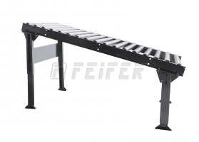 DP300 conveyor - steel rollers, L=2000 mm, A=80 mm