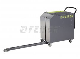TP-410 PALLET STRAPPER - semi-automatic PP strapping machine with battery modul