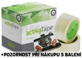 ActivaTape 48 mm x 66 m, basic, 43 my, transparent
