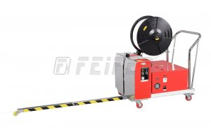 TP-502MVB - semi-automatic PP strapping machine with battery modul